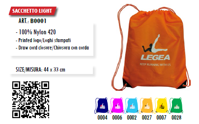 Batoh LEGEA - BORSA SACCHETTO LIGHT